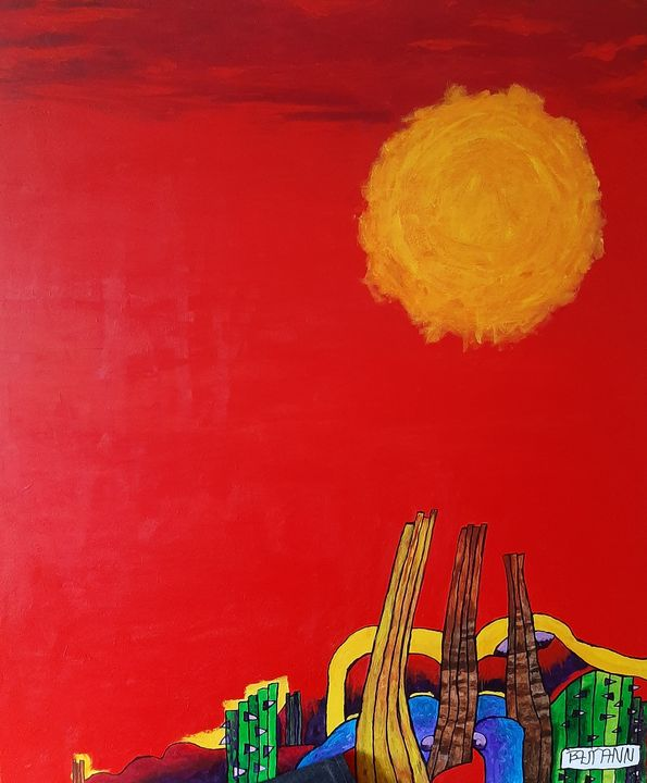 Burning Sun - Bert Baumann