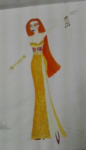 Fashion Beauty Paiting Art
