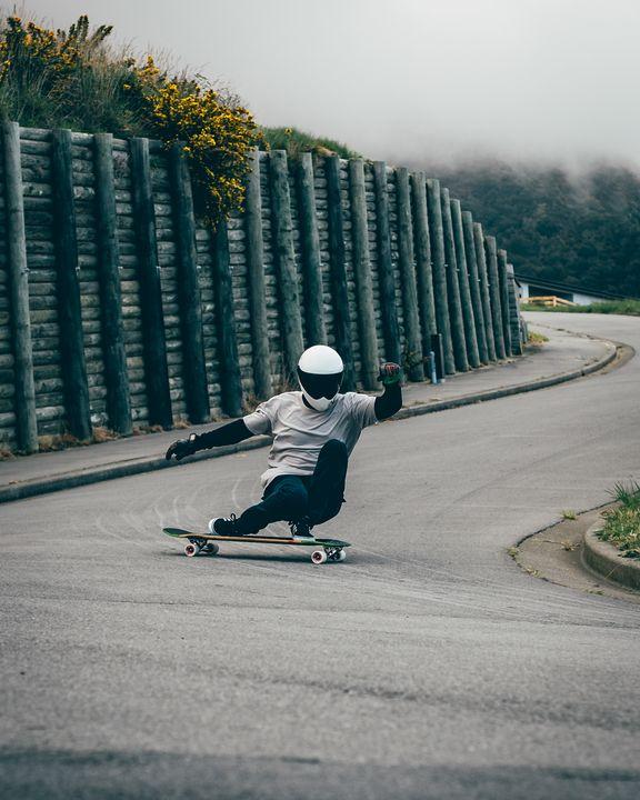 Longboarding Heelside - Matty G Photography