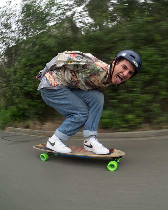 Longboarding Tuck - Matty G Photography