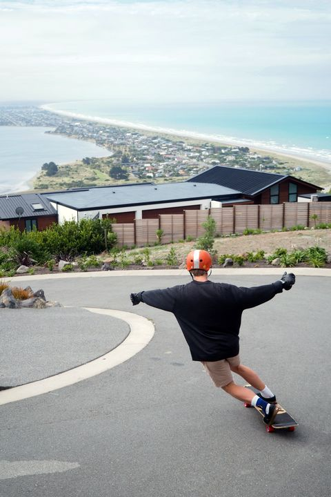 Longboarding Toeside - Matty G Photography