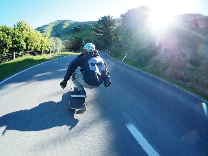 Longboarding | Hill bomb - Matty G Photography