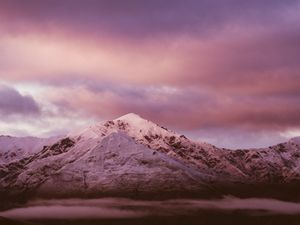 NZ Art | Mountain dawn