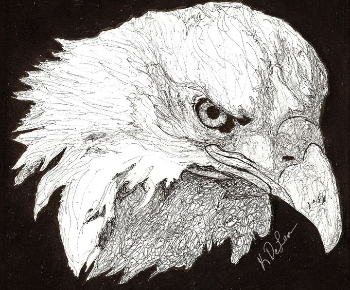 """Bird of Pray"" - Art b K DeLeon"