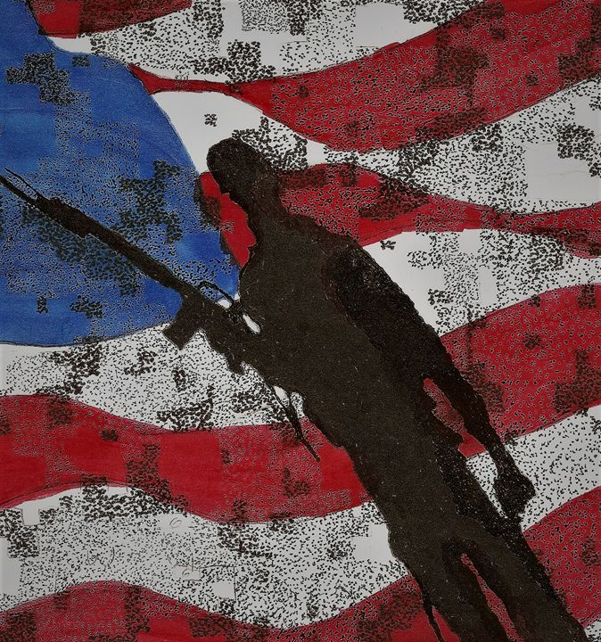 American Soldier - Art b K DeLeon