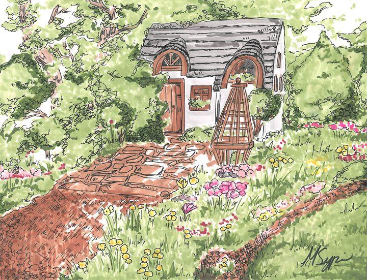 A Hidden Cottage - Mila Sypin