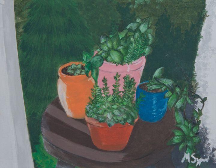 A Little Garden - Mila Sypin