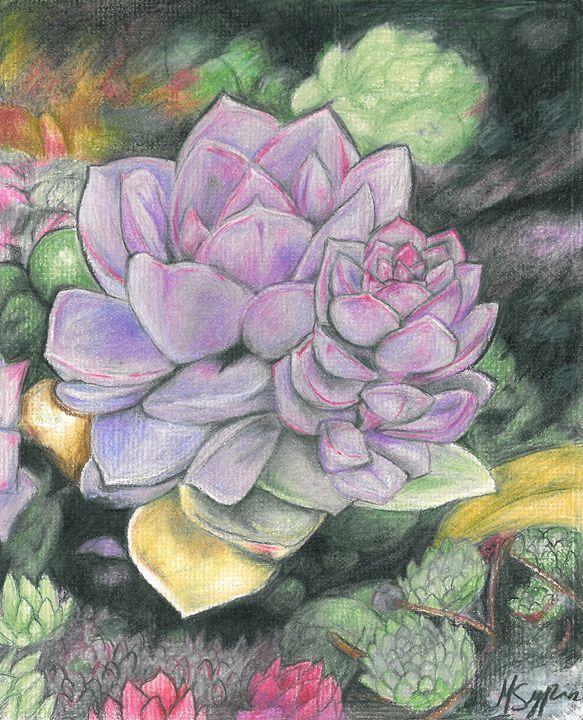 Garden of Succulents - Mila Sypin