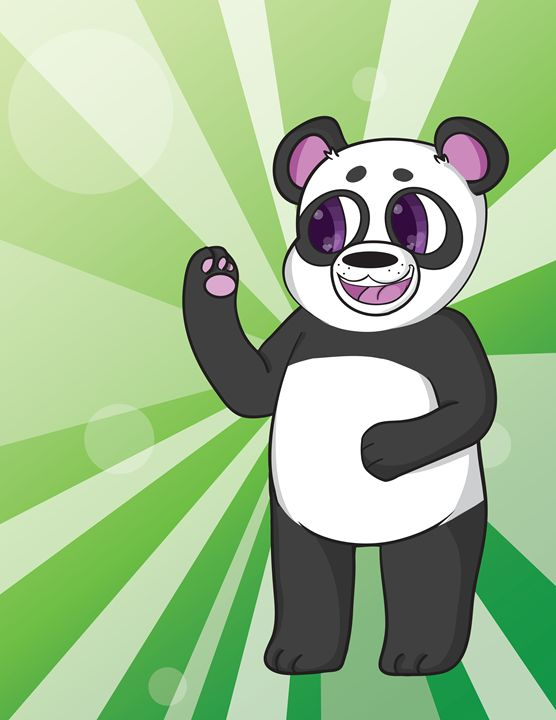 Smiling Panda - Mila Sypin