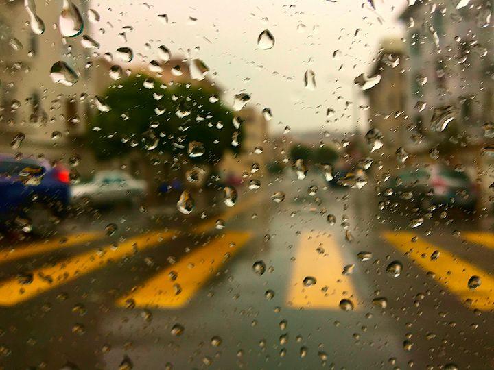 Rainy San Francisco - Erfert Art