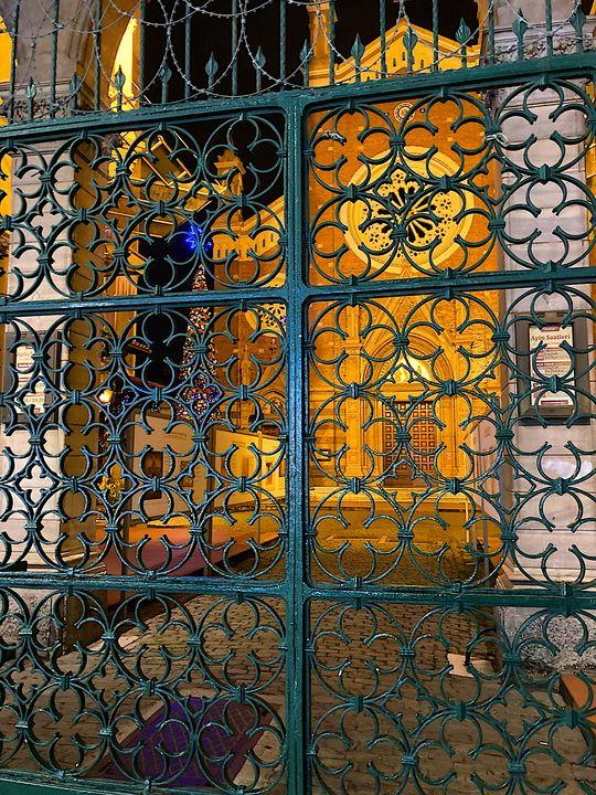 Church gate - Erfert Art