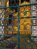 Church gate, print