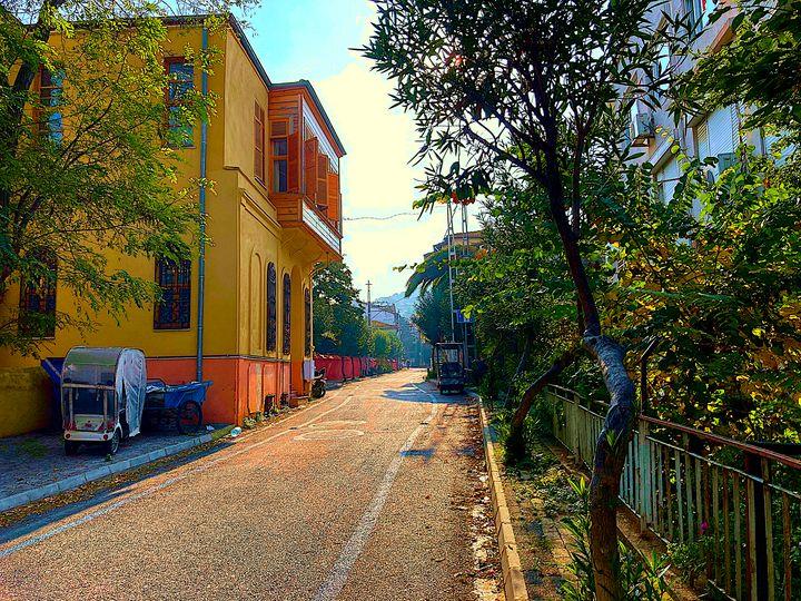 Turkish small street - Erfert Art