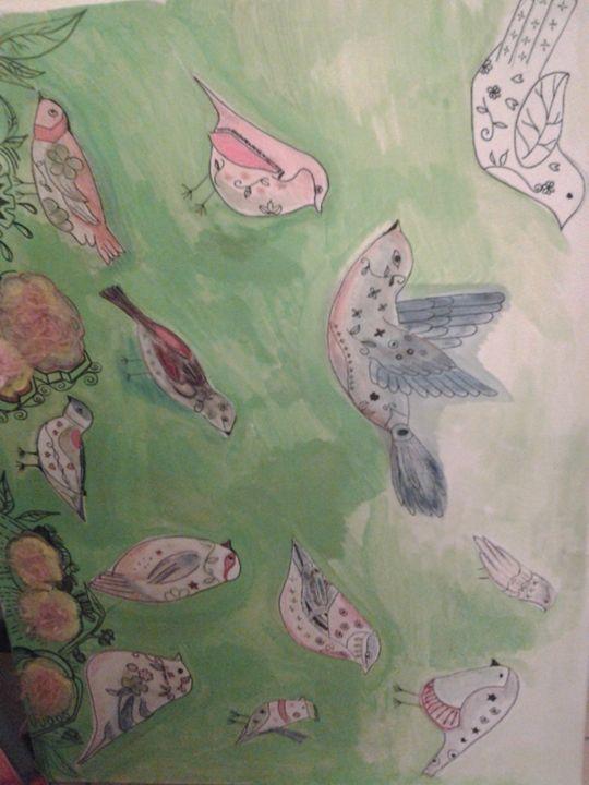 birds in silence - hocus pocus Candy
