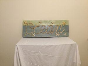 Ocean Hanging plaque