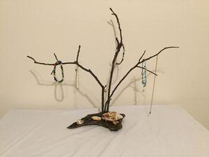 Driftwood Seashell Jewelry holder