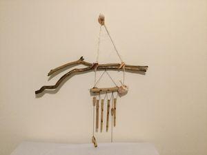 Driftwood Bamboo wind chimes