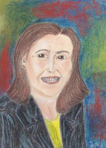 Pastel Painting of Geisha Williams