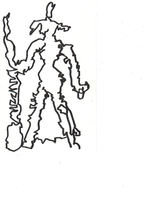 World map Dot Witch - World Map Art