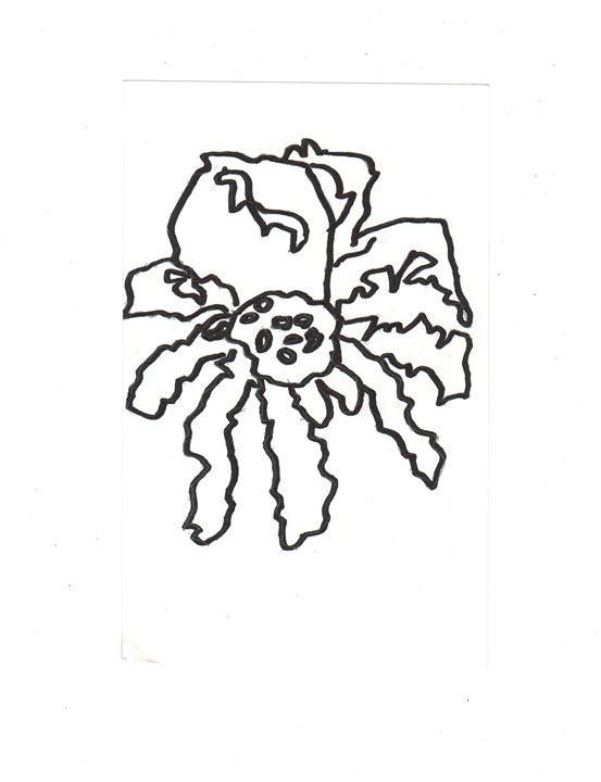 Spider Nation dots 2 - World Map Art