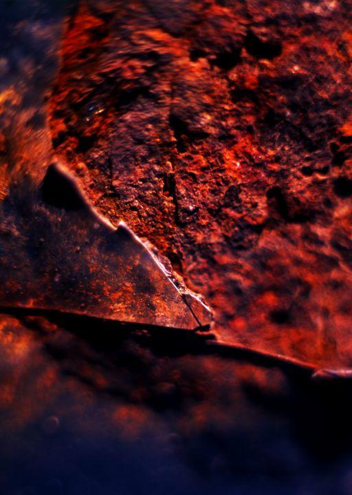 Rust, metal, paint texture - Kumoki