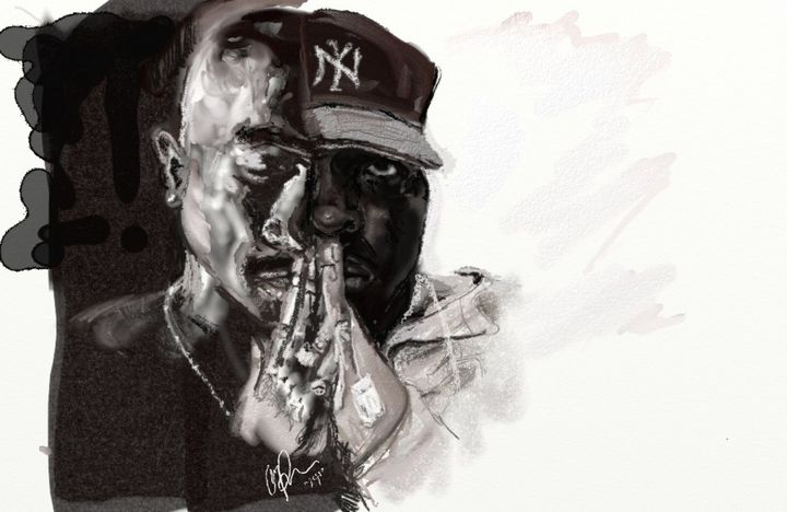 Hip Hop Overstanding - Peach Jigabit Creations