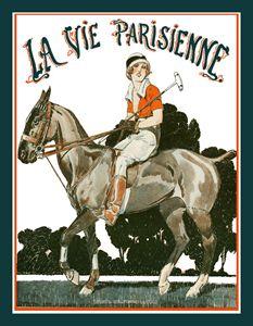 LA VIE PARISIENNE - 1919 - RENE VINC