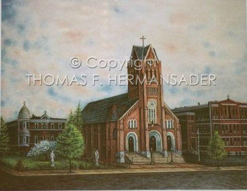 Saint Anthony's Catholic Church - Thomas Hermansader