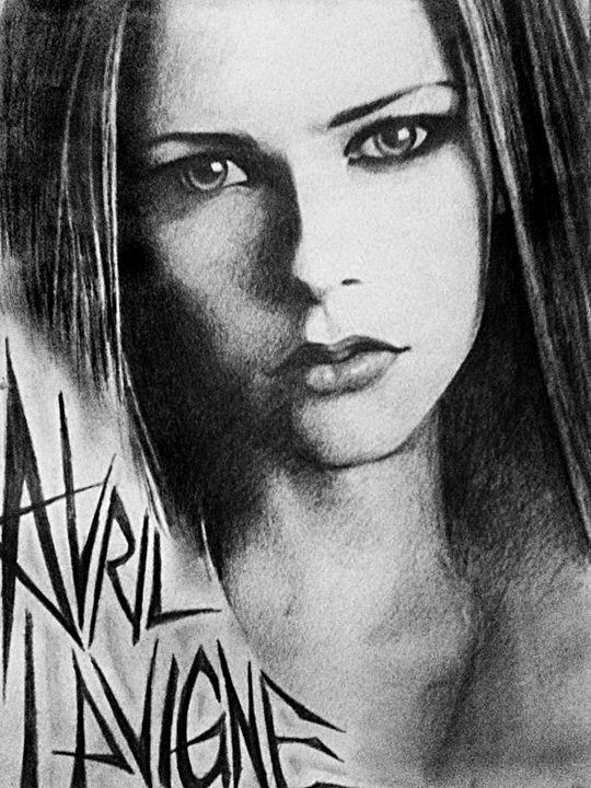 Avril Sketch - HendriArt