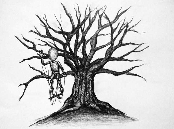 Pupet & tree - HendriArt
