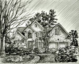 House Sketch #2 - HendriArt
