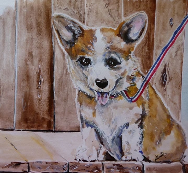 Corgi Baby - Out of Darkness: Diane Beatty