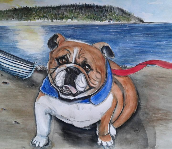 RIver Boy- Bulldog - Out of Darkness: Diane Beatty