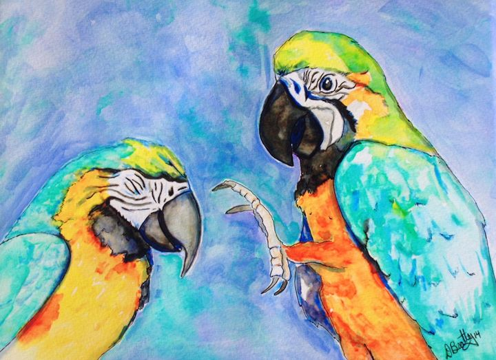 Parrot Pals - Out of Darkness: Diane Beatty