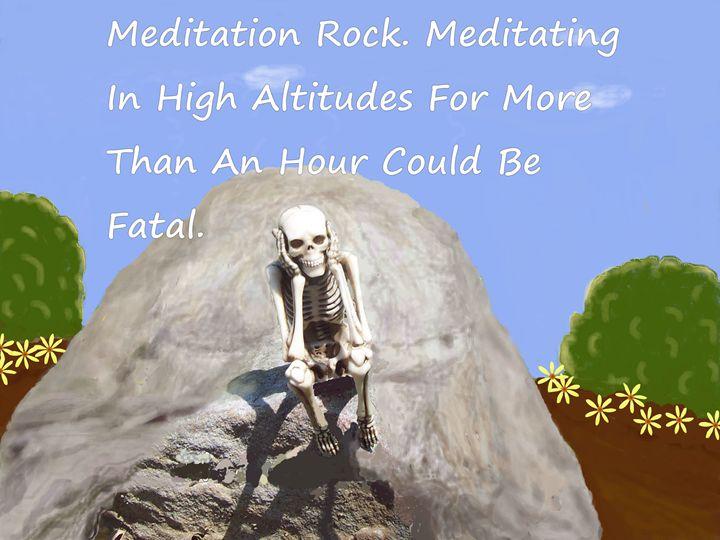 Meditation Rock - Starlight