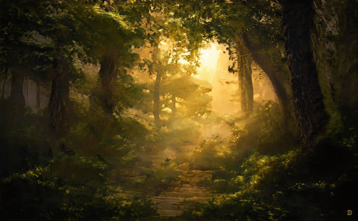 Misty Forest - ID Artcraft