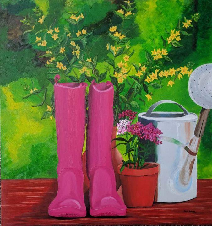 Spring in my step - Aditi Bakshi