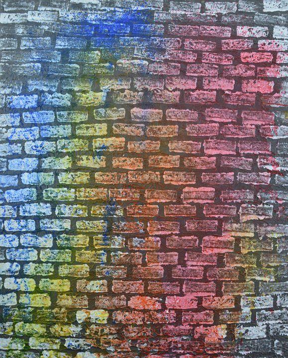 The Painted Brick Wall - Zilpa van der Gragt