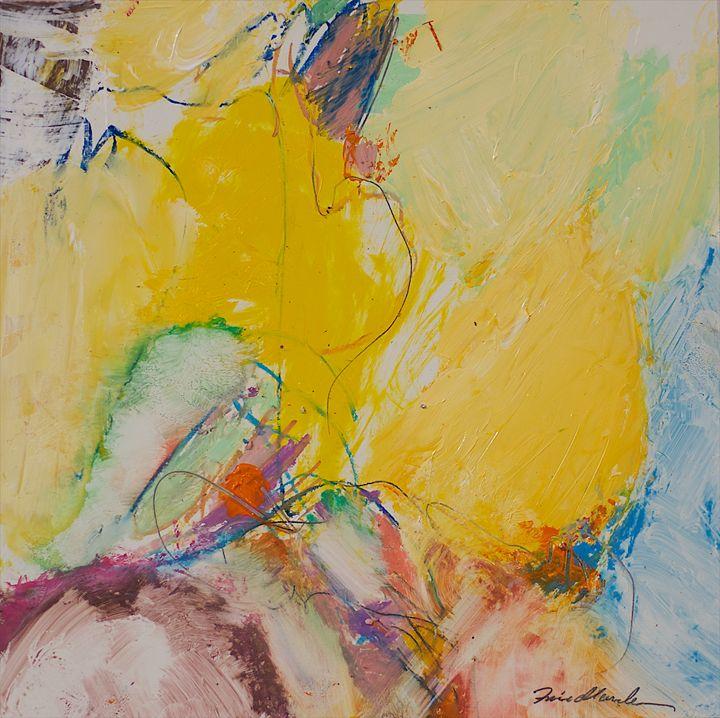 Crystal - Allan Friedlander's  paintings