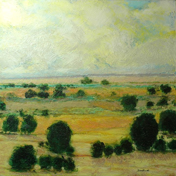 Till the Clouds Roll by - Allan Friedlander's  paintings