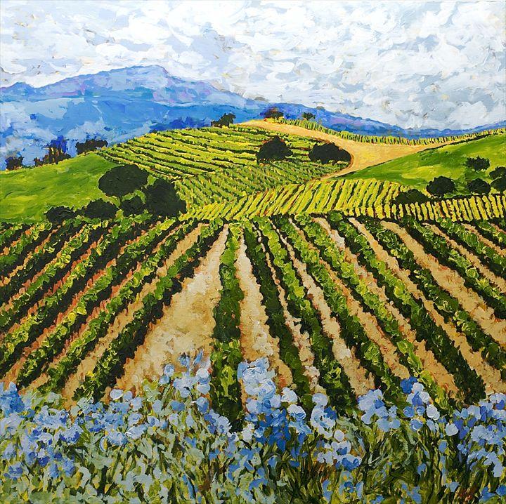 Early Crop - Allan Friedlander's  paintings