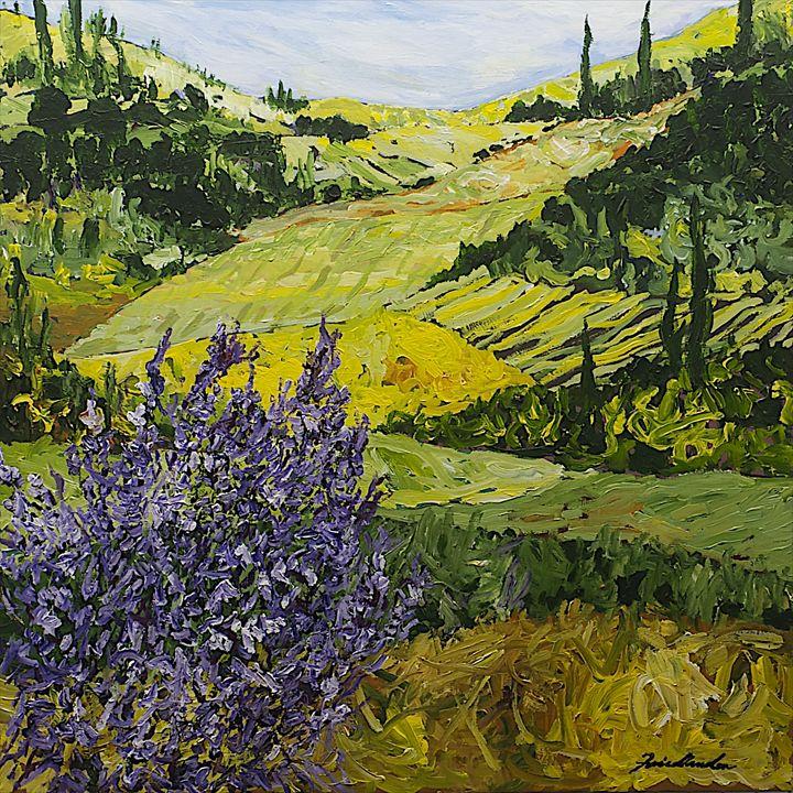 Pleasant Heart - Allan Friedlander's  paintings