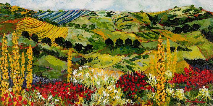 Heavenly View - Allan Friedlander's  paintings