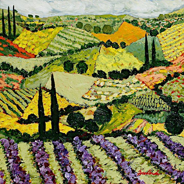 A New Season - Allan Friedlander's  paintings