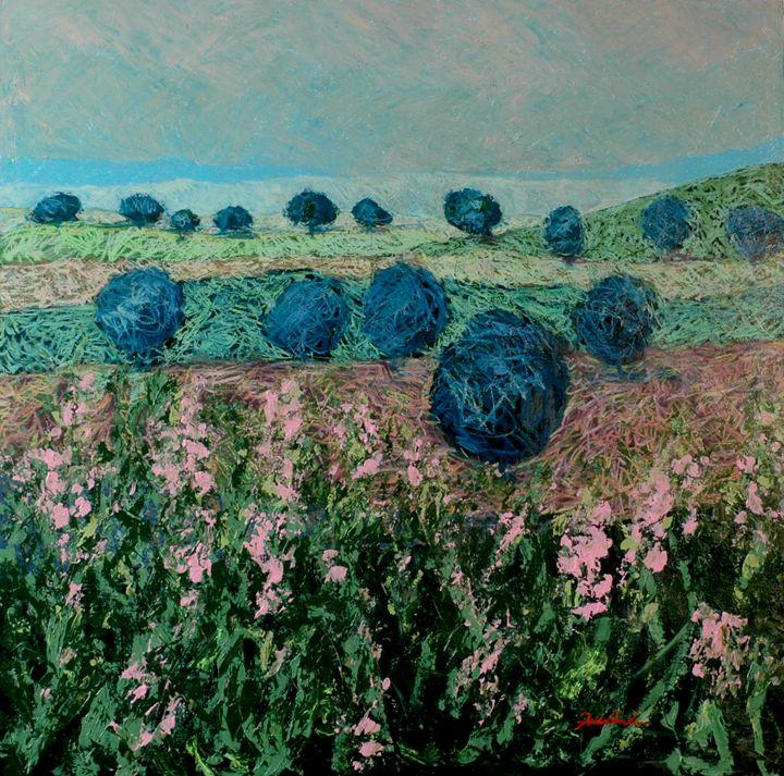Pleasant Meadow - Allan Friedlander's  paintings