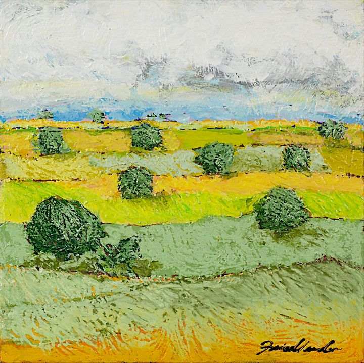 Ridge Vista - Allan Friedlander's  paintings