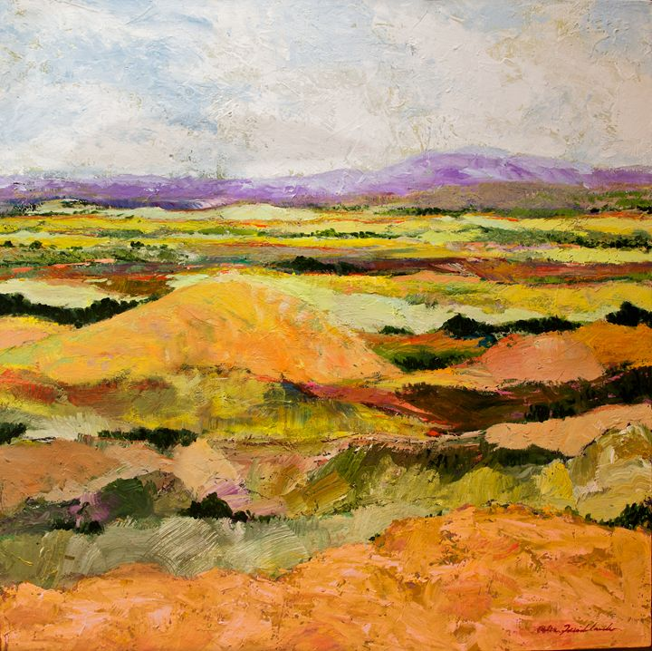 Short Hill - Allan Friedlander's  paintings