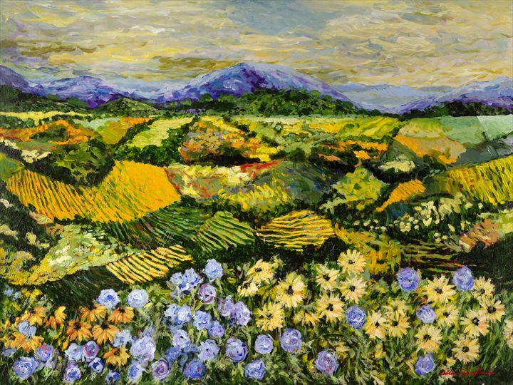 High Journey - Allan Friedlander's  paintings
