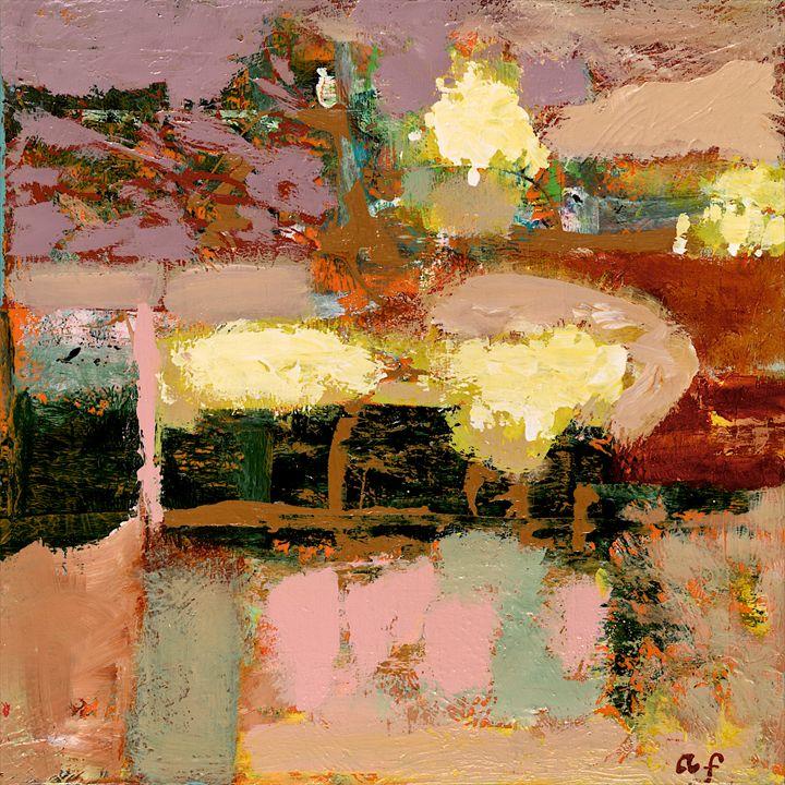 Chop Liver - Allan Friedlander's  paintings
