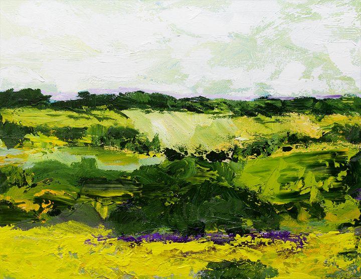 White Hill - Allan Friedlander's  paintings
